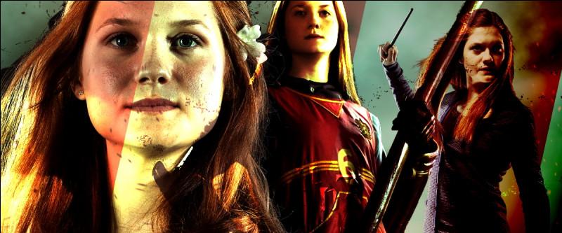 TOP 4 : Ginny Weasley (259 pts)Spécialiste en imitation, elle fait rire tout le monde en mimant Harry en capitaine de Quidditch énervé, et fait peur à tout le monde en...