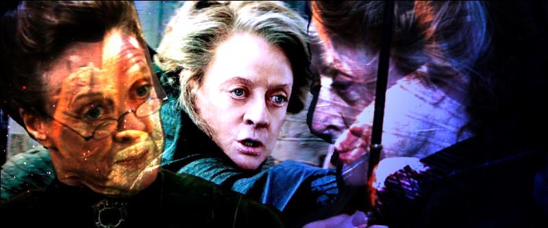 TOP 14 : Minerva McGonagall (61 pts)Quel singularité partage-t-elle avec Dolores Ombrage ?