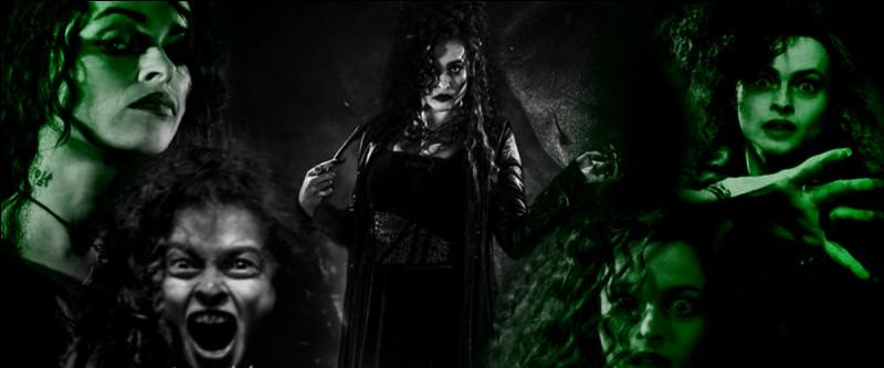 TOP 13 : Bellatrix Lestrange (86 pts)On la croit maléfique au possible, mais elle ne tue qu'un elfe, DOBBY, et que deux personnes, lesquelles ?