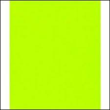 Passons à la dernière couleur : le vert. Cette couleur se nomme le vert ...