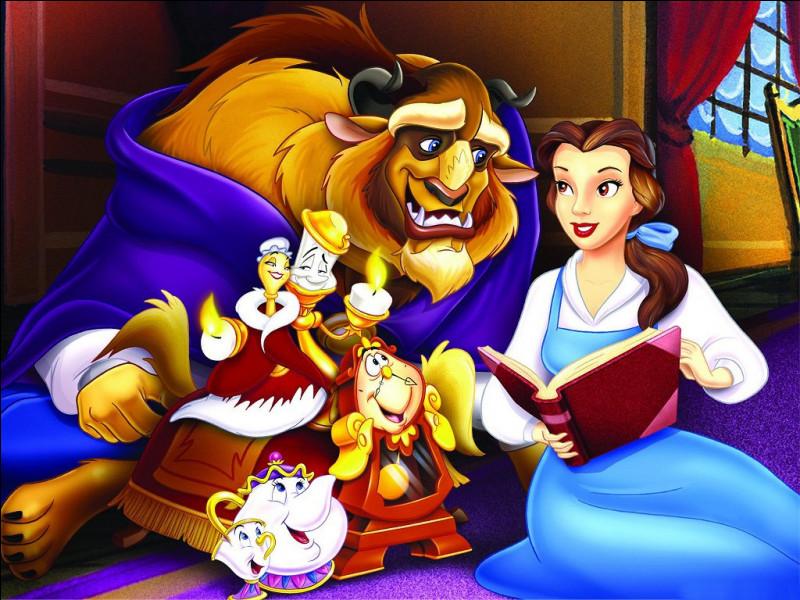 """""""La Belle et la Bête"""" est inspiré d'un conte."""