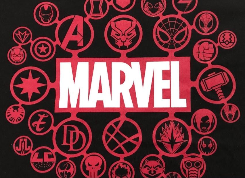 Les logos des super-héros Marvel