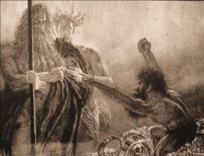 Je suis un dvergr/nain tué par Loki en loutre, qui a ensuite remboursé mon père avec un trésor maudit. Qui suis-je ?