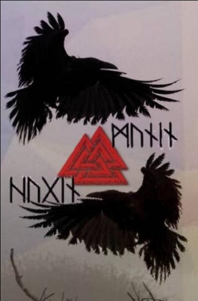 Je suis la mémoire d'Odin. Qui suis-je ?