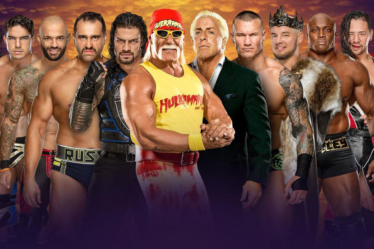 Les catcheurs de la WWE