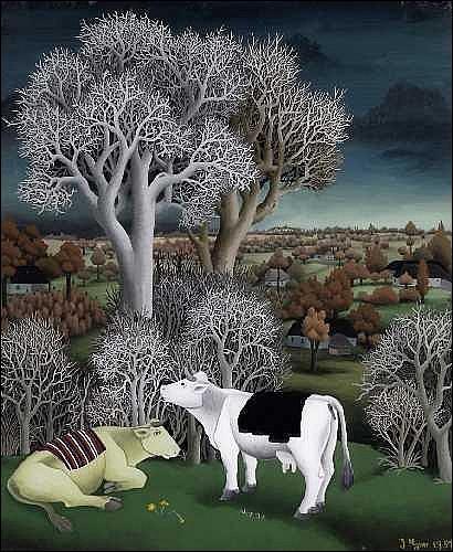 De quelle couleur est la robe de la vache charolaise ?
