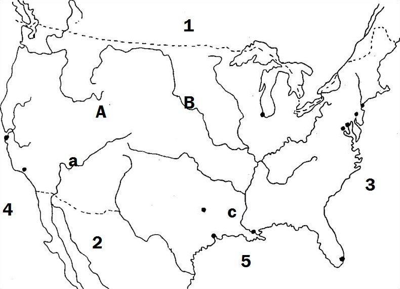 Les Etats-Unis en cartes