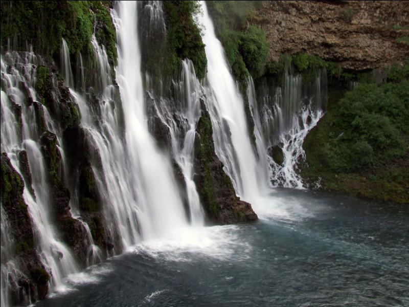 """Surnommées la """"huitième merveille du monde"""", dans quel état américain trouve-t-on les chutes de Burney ?"""