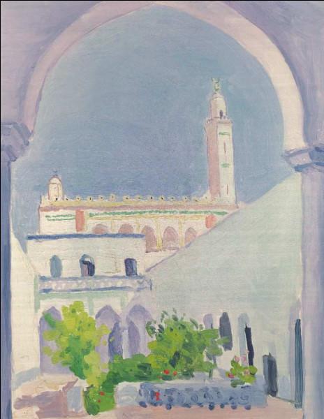 """Qui a peint """"Laghouat, mosquée"""" ?"""