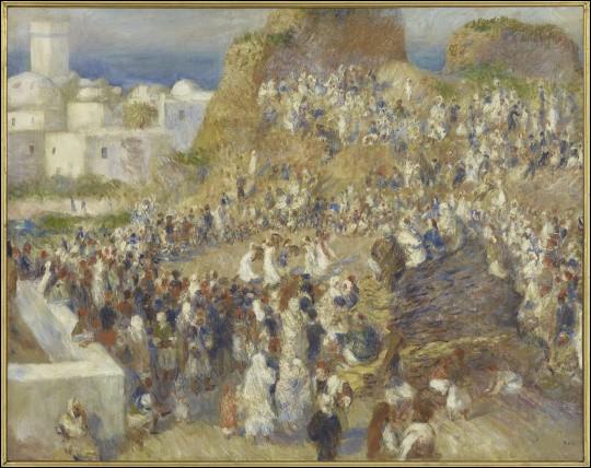 """Qui a peint """"La Mosquée, fête arabe"""" ?"""
