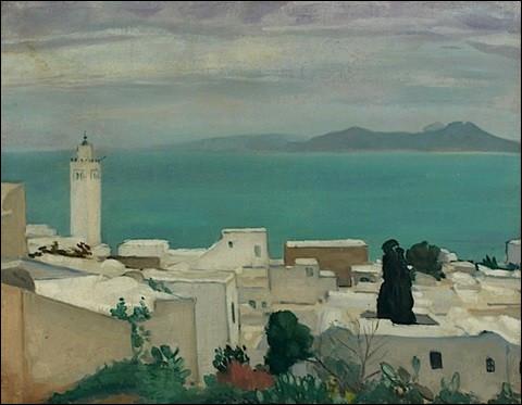 """Qui a peint """"La Ville et la mosquée"""" ?"""