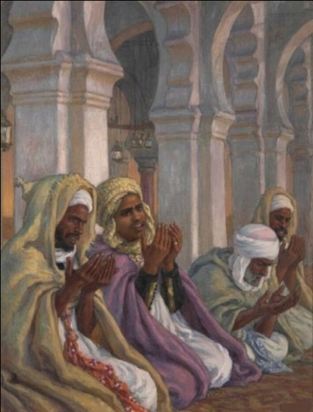 """Qui a peint """"La Prière dans la mosquée"""" ?"""