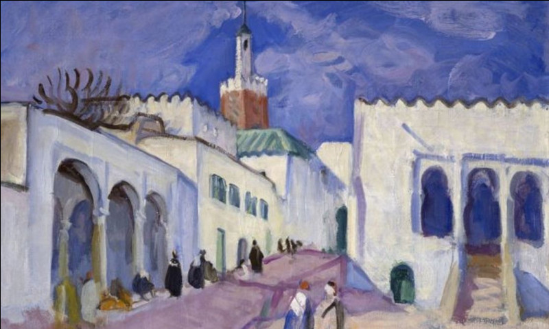 Qui est le peintre de cette mosquée ?