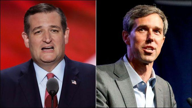Lors des élections sénatoriales de 2018, lequel de ces candidats a été élu sénateur du Texas ?