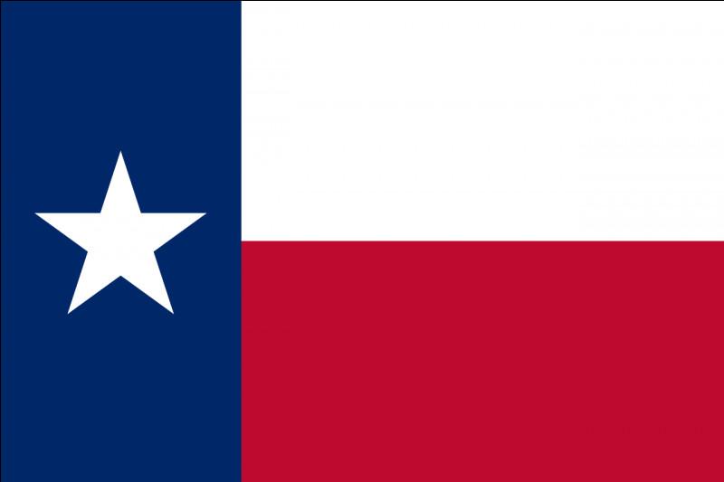 L'image ci-contre est le drapeau du Texas. Savez-vous en quelle année ce drapeau a-t-il été adopté ?