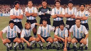 L'Argentine durant la Coupe du monde 1990