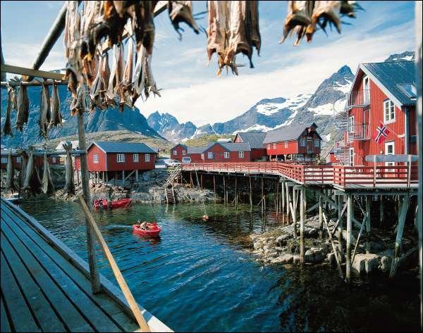 Où trouve-t-on des fjords ?