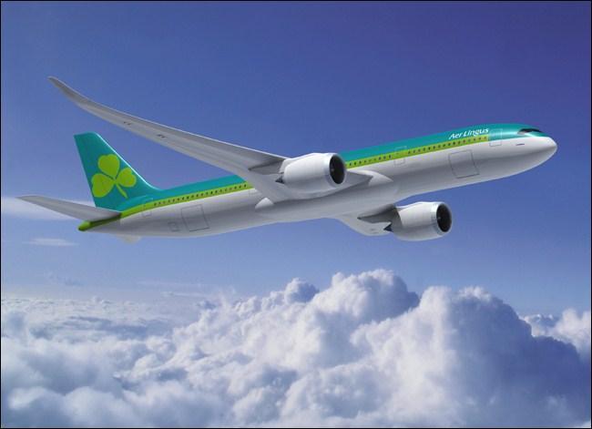 Quelle est la nationalité de la compagnie aérienne «Aer Lingus» ?