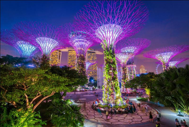 Combien d'îles y a-t-il à Singapour ?