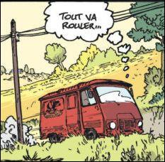 Dans ''Les Vieux Fourneaux'' l'héroïne utilise cette camionnette pour colporter ses spectacles. Quel est ce modèle ?