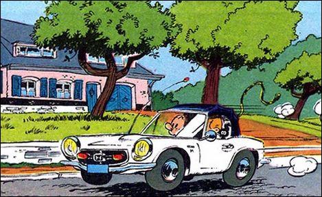 Spirou et Fantasio roulent dans cette petite décapotable japonaise. Quel est donc ce modèle ?