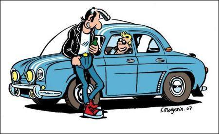 Dans la BD de Margerin son héros Lucien emprunte souvent des voitures des années 60. De quel modèle s'agit-il ?