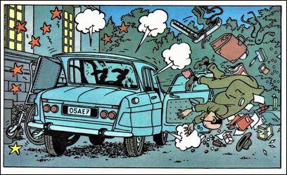 Dans l'Affaire Tournesol quelle est la voiture du médecin à qui il arrive quelques mésaventures ?