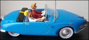 La voiture de Spirou et Fantasio existe réellement en version coupé. Quel est ce modèle futuriste ?