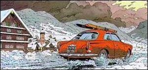 Dans cette BD Guy Lefranc part aux sports d'hiver dans une...