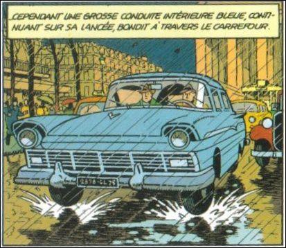 Quel est ce modèle dessiné par Edgar P. Jacobs au début de ''SOS Météore'' une aventure de Blake et Mortimer ?