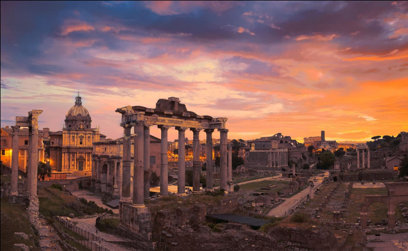 Dans quelle région se situe Rome ?