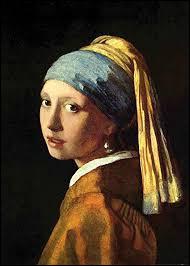 """Durant quel siècle a été réalisé ce célèbre tableau de Johannes Vermeer intitulé """"La Jeune Fille à la perle"""" ?"""