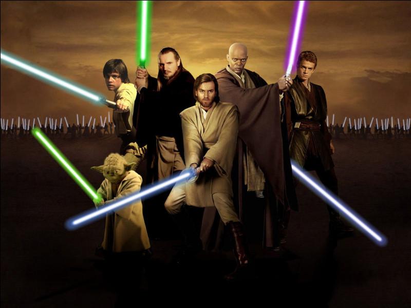 Dans quelle saga pouvez-vous voir un Jedi ?
