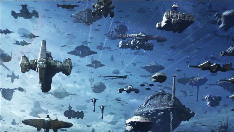Dans quelle saga se trouve le suprême leader Snoke ?