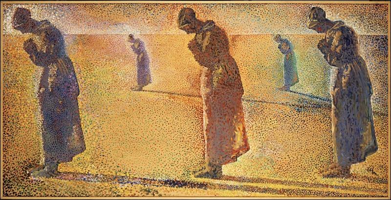 """Qui a peint la toile intitulée """"Aurore, couchant, midi et crépuscule"""" ?"""