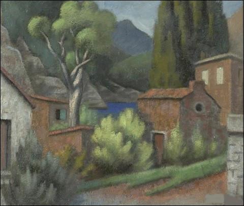 """Toujours le même titre : qui a peint """"Paysage du Midi"""" ?"""