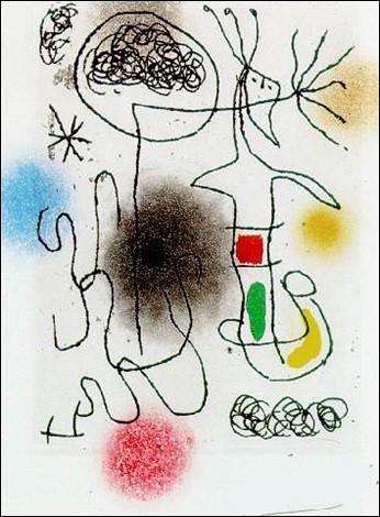 """Voici une patte plus reconnaissable """"Midi le Trèfle blanc"""" est une peinture de l'artiste :"""