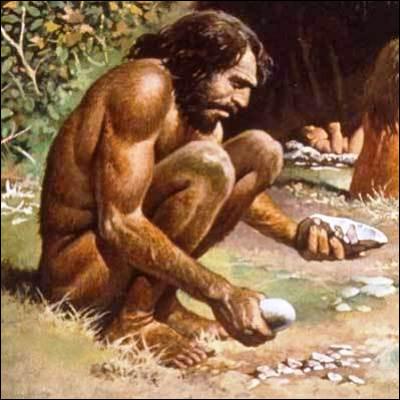 Quel mode d'acquisition de la nourriture, pratiqué par l'homme du paléolithique, est aussi appelé phagotrophie ?