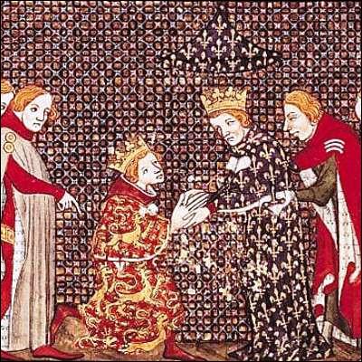 Quel système politique typique du Moyen Âge se base sur la relation entre suzerains et vassaux ?