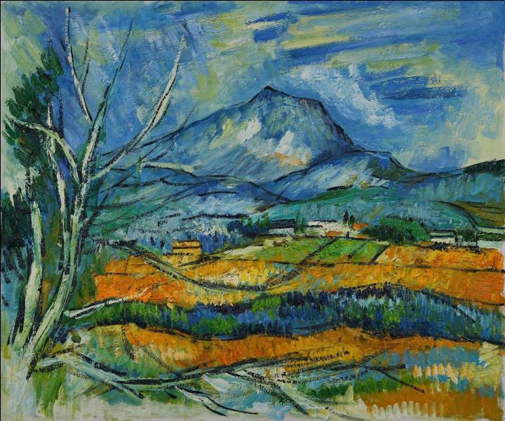 Avec quel écrivain le peintre Paul Cézanne était-il ami avant de se fâcher avec lui ?