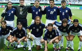 L'Argentine durant la Coupe du monde 2002