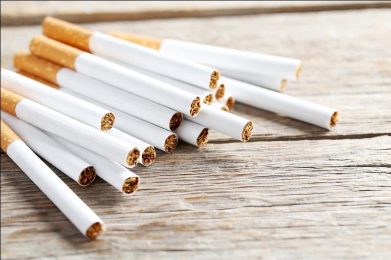 Les cigarettes sont des déchets verts.