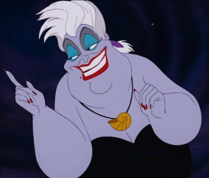 Ce personnage est Ursula.