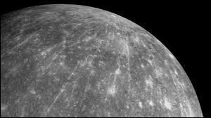 La température moyenne en surface de Mercure est de____C°.