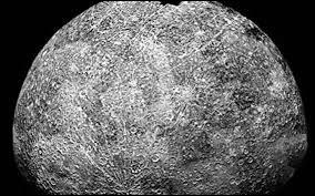 La période de révolution de Mercure est de___.