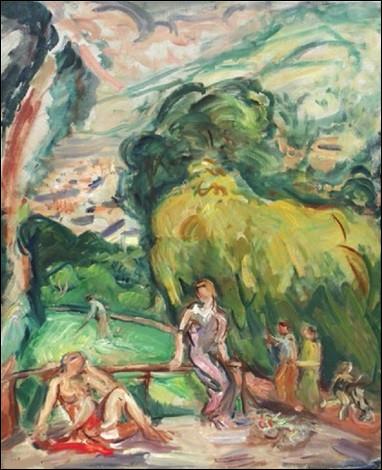 """Qui est le peintre du tableau intitulé """"Après-midi d'été"""" ?"""