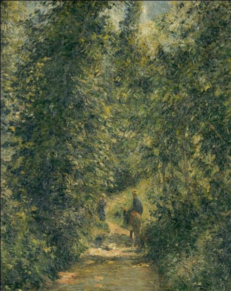 """Qui a peint """"Chemin en sous-bois, l'été"""" ?"""