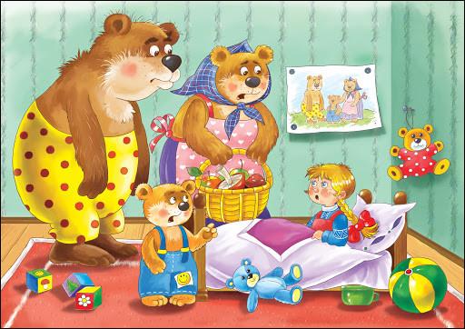 Comment s'appelle cette petite fille blonde qui visite la maison des 3 ours ?