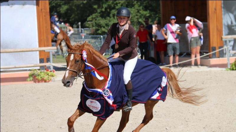Qui est le cavalier champion de France ?
