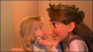 Laquelle de ces princesses Disney a eu une fillette appelée Melody ?
